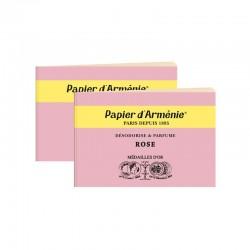 Papier d'armenie, la Rose, 2 carnets