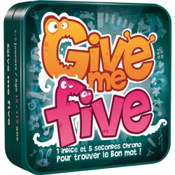 Give me Five, Cocktail Games
