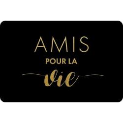 Carte postale, Amis pour la vie, Kiub