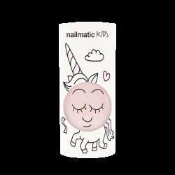 Vernis pour enfants Rose transparent et paillettes, Nailmatic