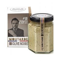 Moutarde à l'Olive Noir,...