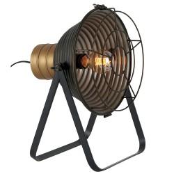 Lampe à poser, style industriel en métal, de chez pure et light
