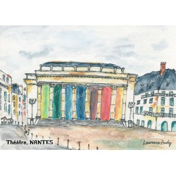 Aquarelle Graslin Nantes, Laurence Audy
