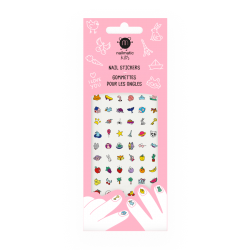 72 Stickers d'ongles pour...
