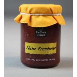 Confiture Pêche Framboise, Le Bois Jumel