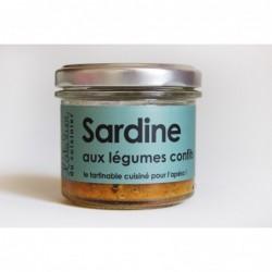 Rillettes de Sardine aux légumes confits, L'Atelier du Cuisinier