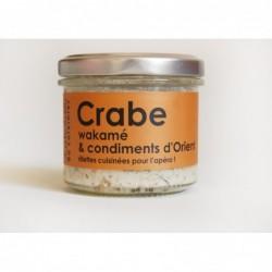 Rillettes de Crabe Wakamé et Condiments d'Orient, L'Atelier du Cuisinier