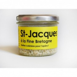 Rillettes de Saint-Jacques à la fine de Bretagne, L'Atelier du Cuisinier