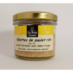 Rillettes de Poulet Rôti (sans porc) , Le Bois Jumel