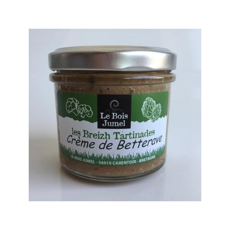 Breizh Tartinades : Crème de Betterave Bio, Le Bois Jumel