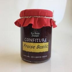 Confiture Fraise Basilic, Le Bois Jumel